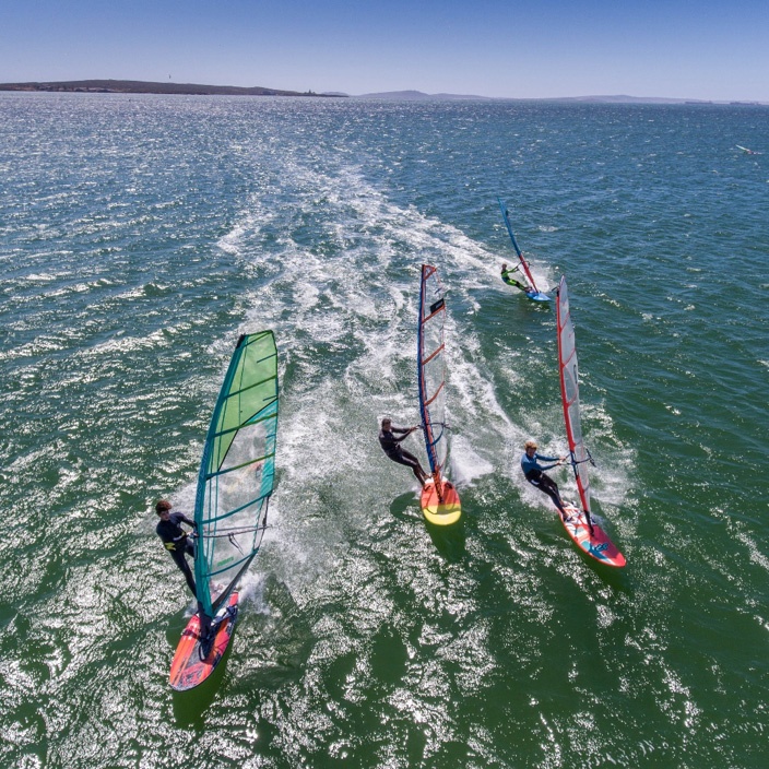 Windsurfing How To Choose The Right Board And Sail Cape Sports Centre