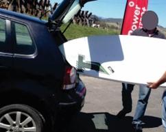 Theft of Windsurfing-/Kitesurfing equipment